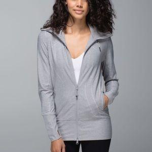 Lululemon Stride Jacket II Hoodie light grey 2